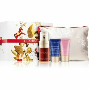 CLARINS VP DOUBLE SERUM 30ML & MA DAY SAMP. & MA NIGHT AST.
