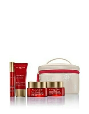 CLARINS VP SUPER RESTOR. DAY & NIGHT AST & SR HAND& SR SERUM