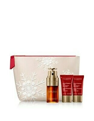 CLARINS VP DOUBLE SERUM 30ML & SR DAY SAMP. & SR NIGHT AST.