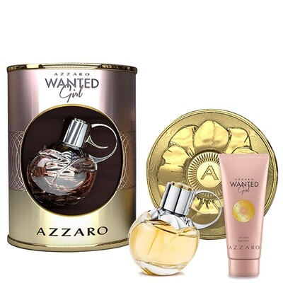 AZZARO WANTED GIRL SET EDP 50ML + BM 100ML