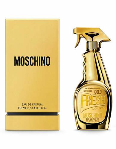 MOSCHINO FRESH GOLD EDP NATURAL SPRAY 100 ML