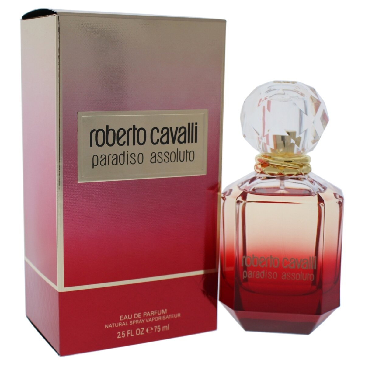 ROBERTO CAVALLI PARADISO ASSOULTO FOR WOMEN EDP 75 ML