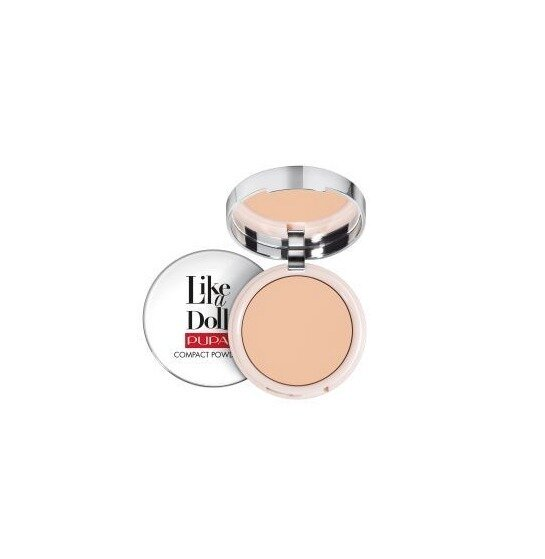 LIKE A DOLL - NUDE SKIN COMPACT POWDER NO. 3 NATURAL BEIGE