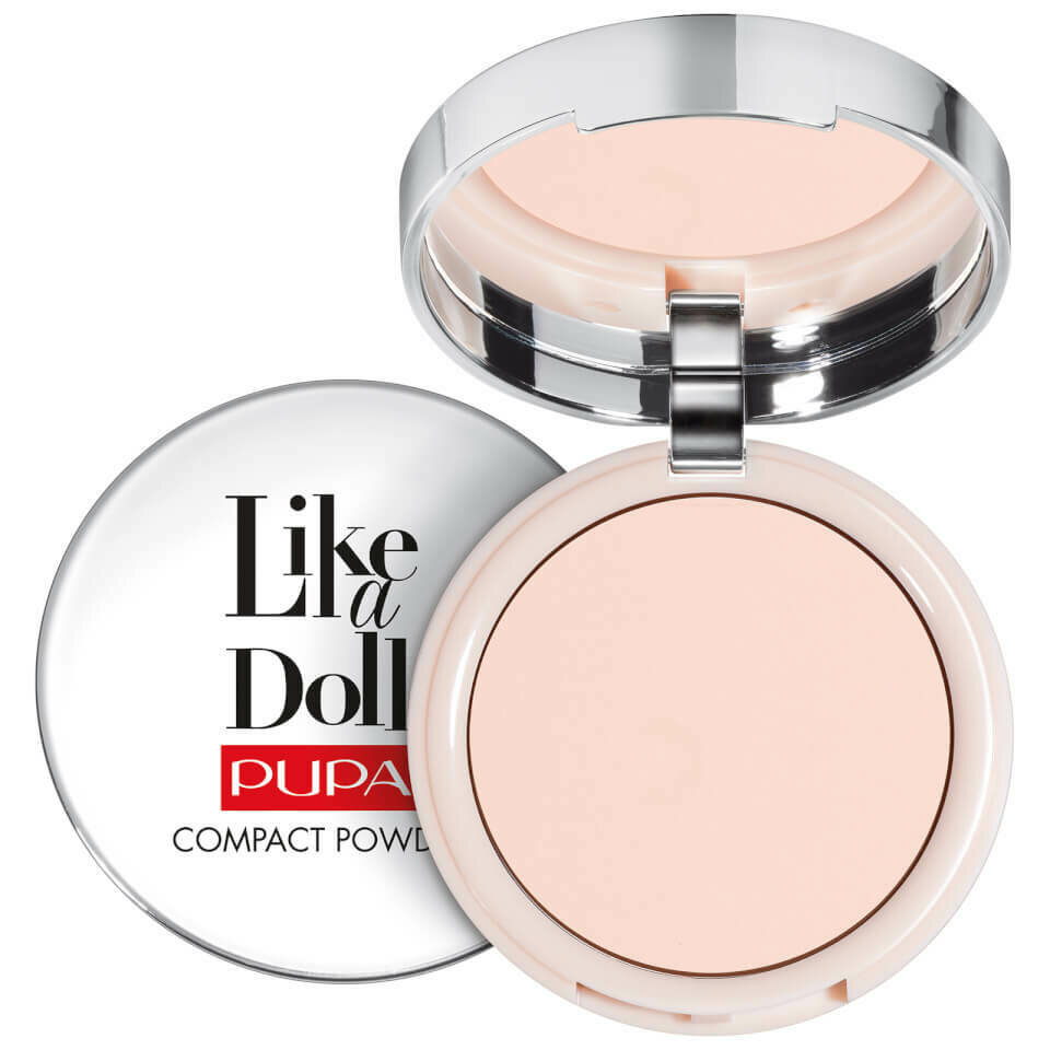 LIKE A DOLL - NUDE SKIN COMPACT POWDER NO. 7 TENDER ROSE
