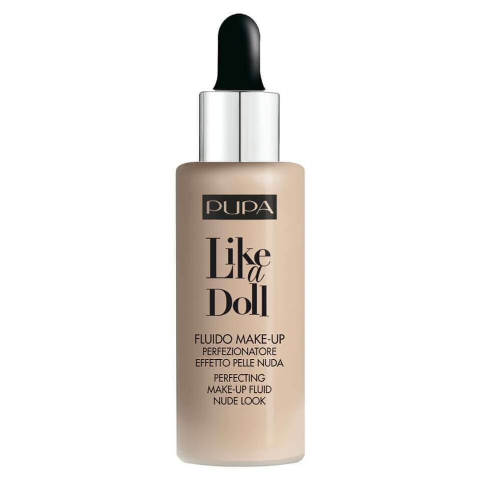 LIKE A DOLL - PERFECTING MAKE-UP FLUID NUDE LOOK NO. 10 PORC