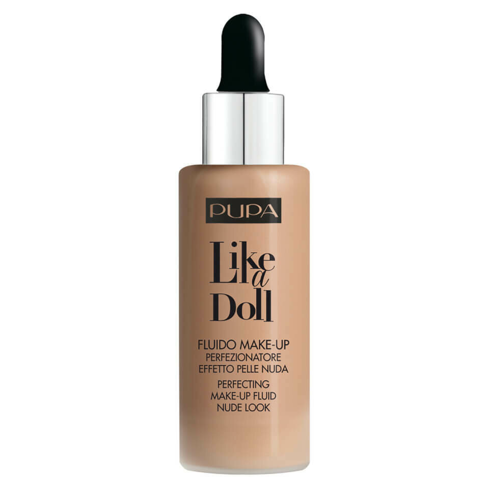 LIKE A DOLL - PERFECTING MAKE-UP FLUID NUDE LOOK NO. 60 GOLD