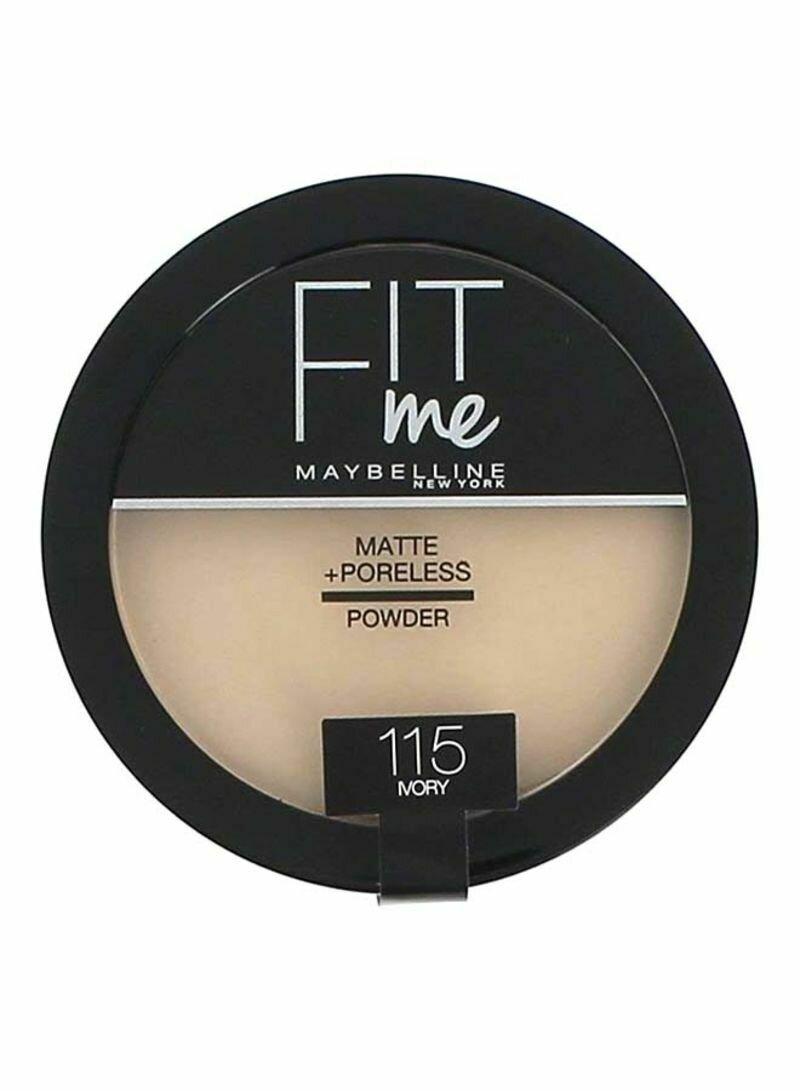 MAYBELLINE FIT ME MATTE PORELESS COMPACT POWDER 115