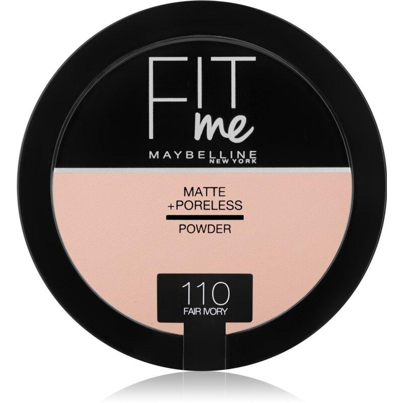 MAYBELLINE FIT ME MATTE PORELESS COMPACT POWDER 110