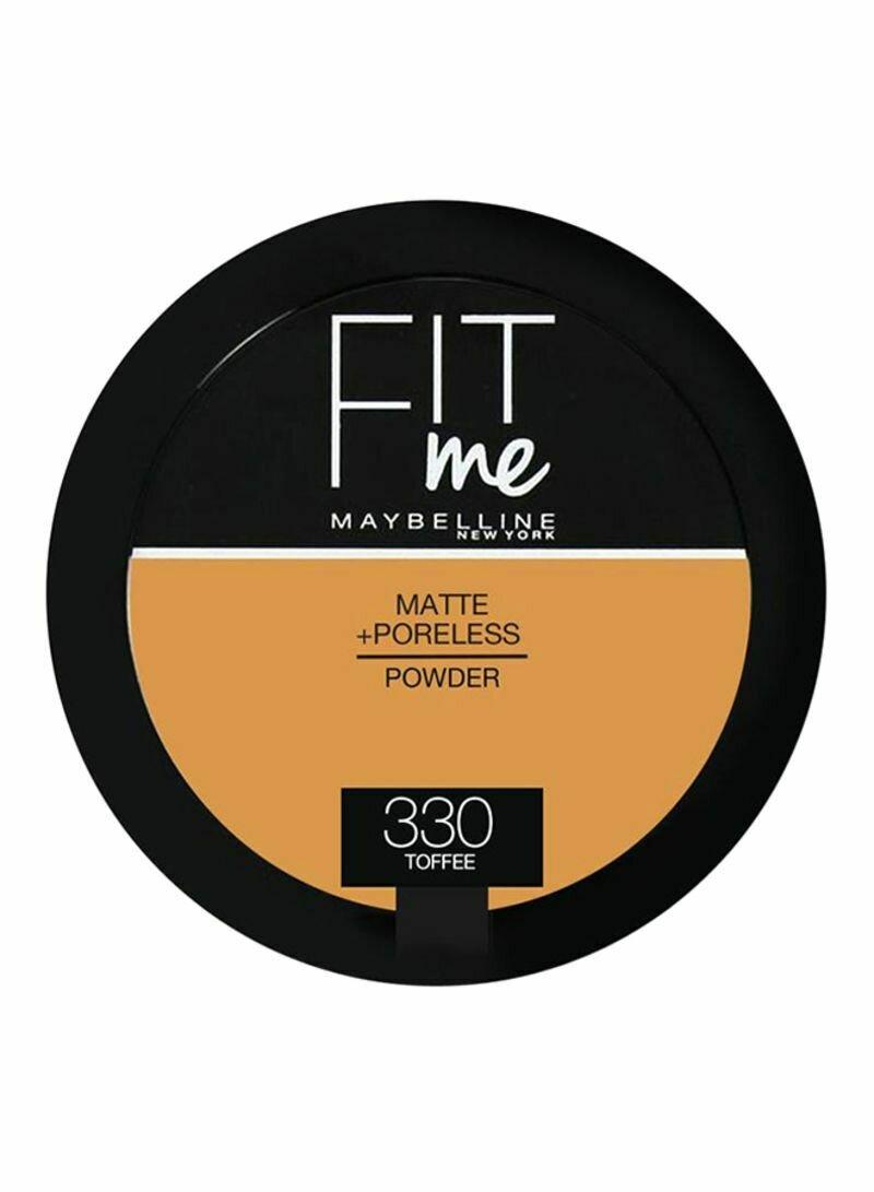 MAYBELLINE FIT ME MATTE PORELESS COMPACT POWDER 330