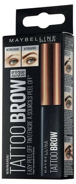 BROW TATTOO GEL TINT MEDIUM BROWN 2