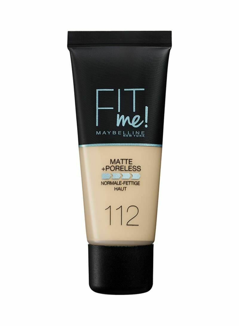 MAYBELLINE FIT ME MATTE PORELESS FOUNDATION 112