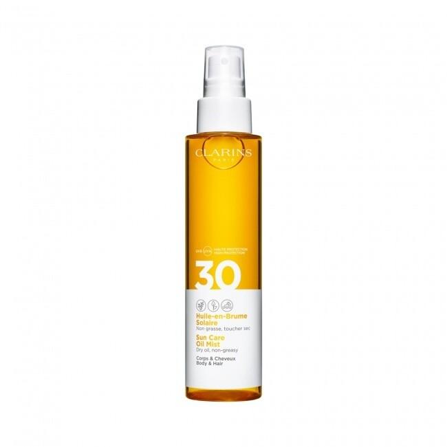 CLARINS BODY & HAIR OIL MIST SUN CARE SPF30 - 150 ML