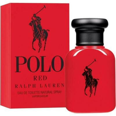 POLO RED FOR MEN EDT 125 ML
