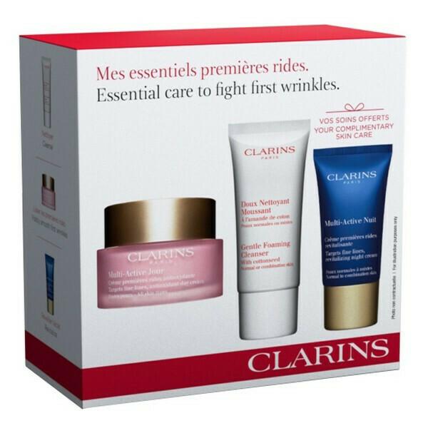 CLARINS MULTI ACTIVE DAY & GENTLE FOAMING & MA NIGHT 18