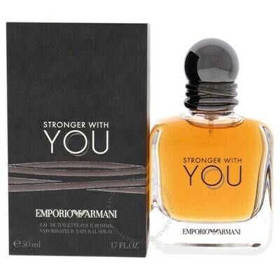 EMPORIO ARMANI YOU STRONGER FOR MAN EDT 50 ML