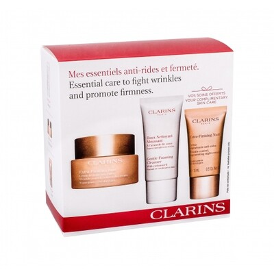 CLARINS EXTRA FIRMING DAY AST & EF NIGHT & GENTLE FOAMING