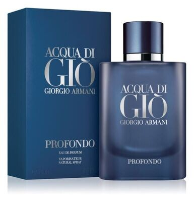 ACQUA DI GIO POUR HOMME PROFONDO EDP 75 ML
