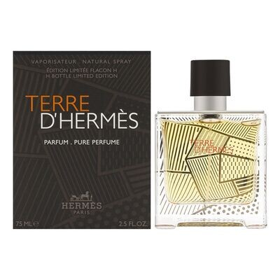 HERMES TERE D'HERMES LIMITED EDITION PURE PERFUM 75ML