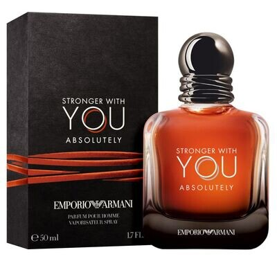 STRONGER WITH YOU ABSOLUTELY FOR MEN EDP 50 ML