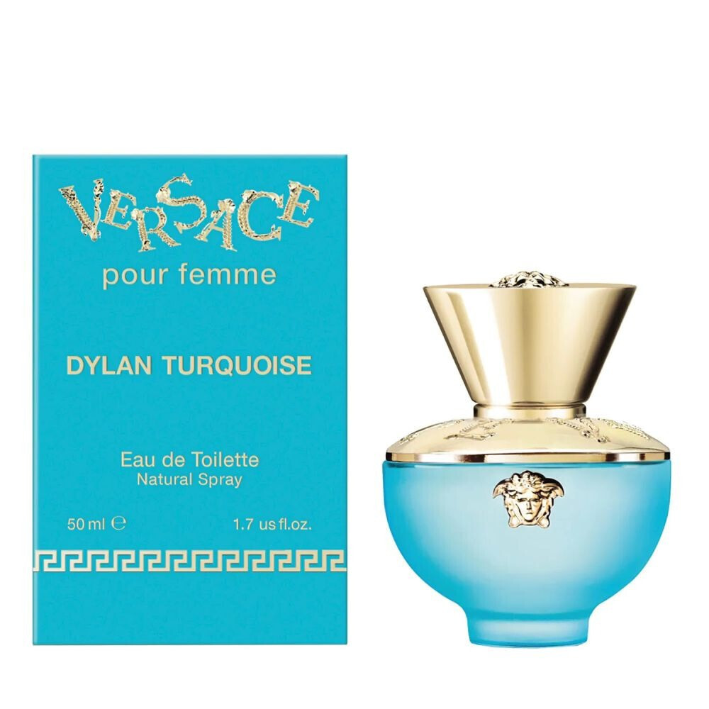 VERSACE DYLAN TURQUOISE FOR WOMEN EDT 50 ML