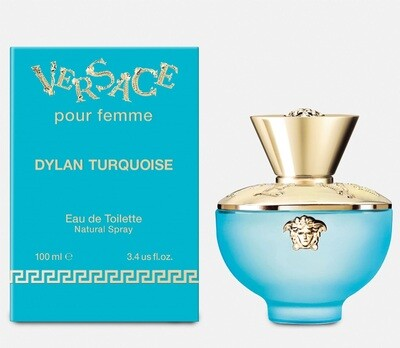VERSACE DYLAN TURQUOISE FOR WOMEN EDT 100 ML
