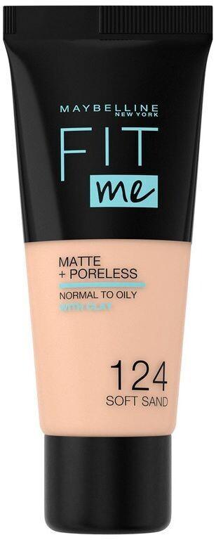MAYBELLINE FIT ME MATTE PORELESS FOUNDATION 124