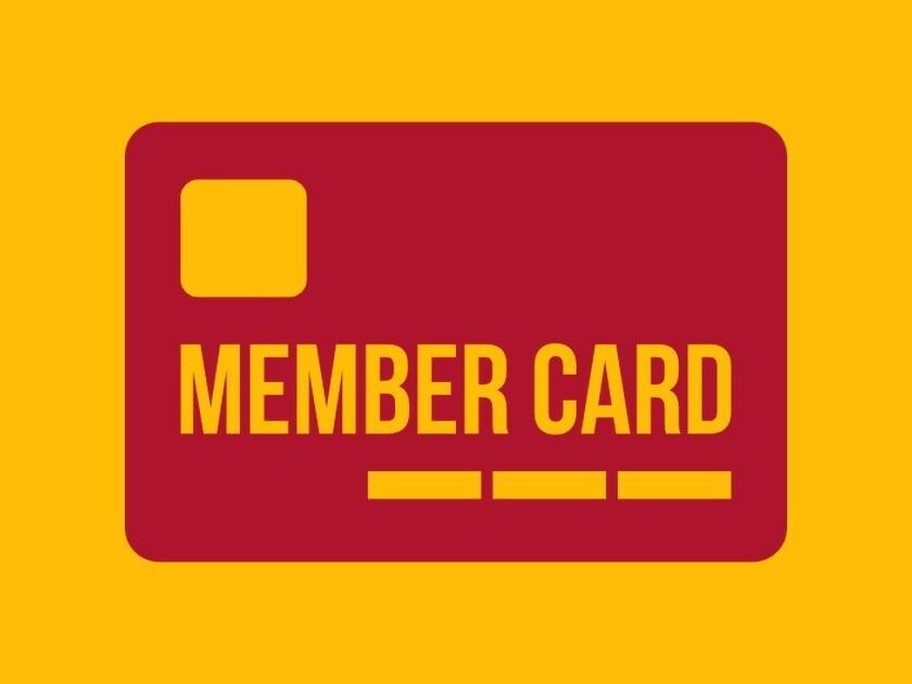 Joint Membership Card