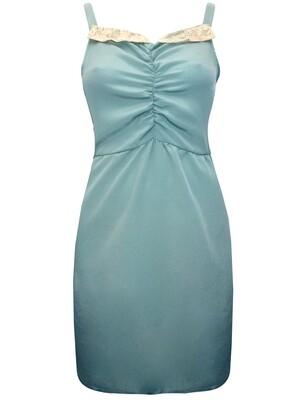 Sleeveless Ruched Slip Dress by Johann Earl