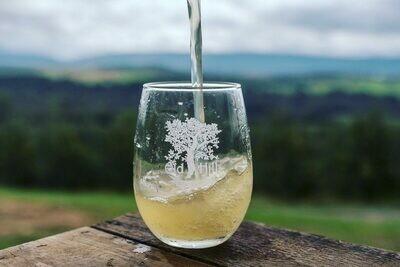 Stemless Old Hill Cider Glass