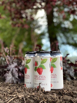 Virginia Strawberry 4-Pack 12 Ounce Cans