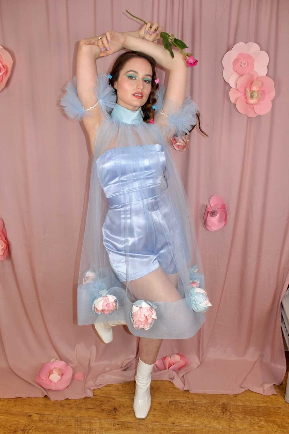 Bow Church Tulle Dress Limited Edition