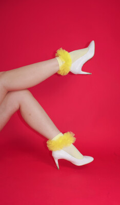 Harry And The Chicks Tulle Socks *BOW CHURCH COLLECTION* Normally £12