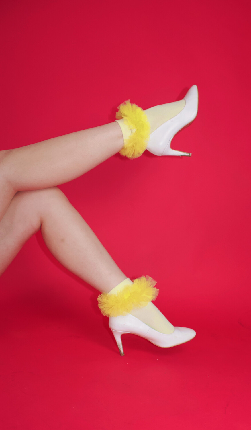 Harry And The Chicks Tulle Socks
