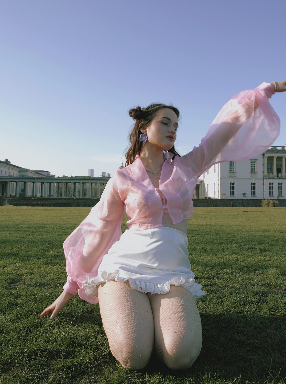 Harry And The Chicks Satin Skirts, Shorts *NEW FABRIC DUCHESS SATIN*