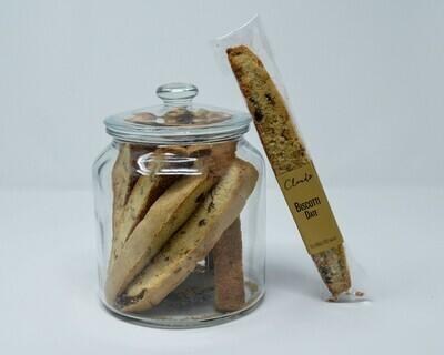 Date & Walnut Biscotti