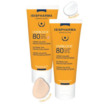 UVEBLOCK SPF80+ Crema de extrema proteccción solar