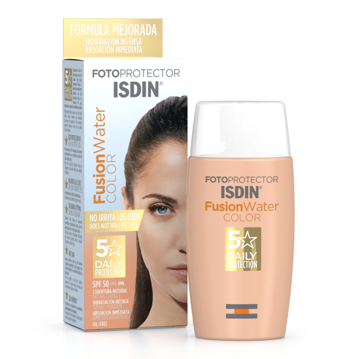 Fotoprotector ISDIN Fusion Water COLOR SPF50+