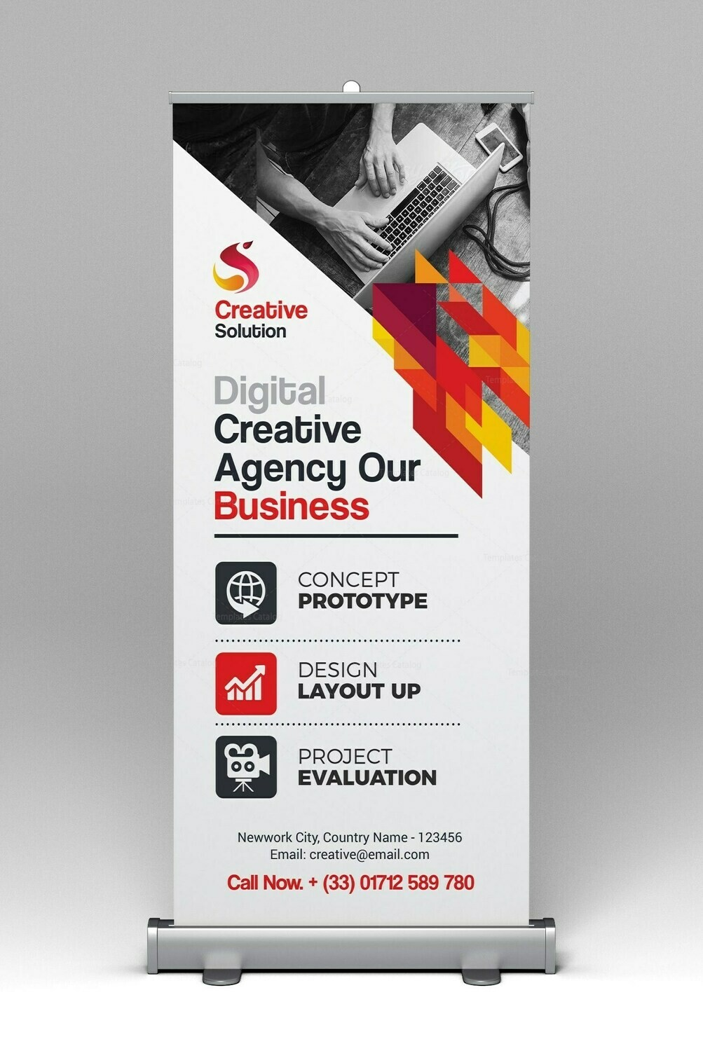 Pull Up Banner Premium - Synthetic