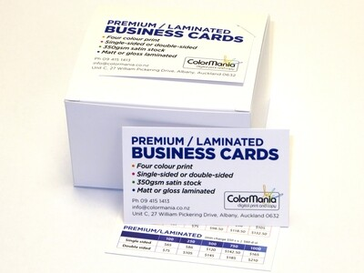 Premium Business Cards