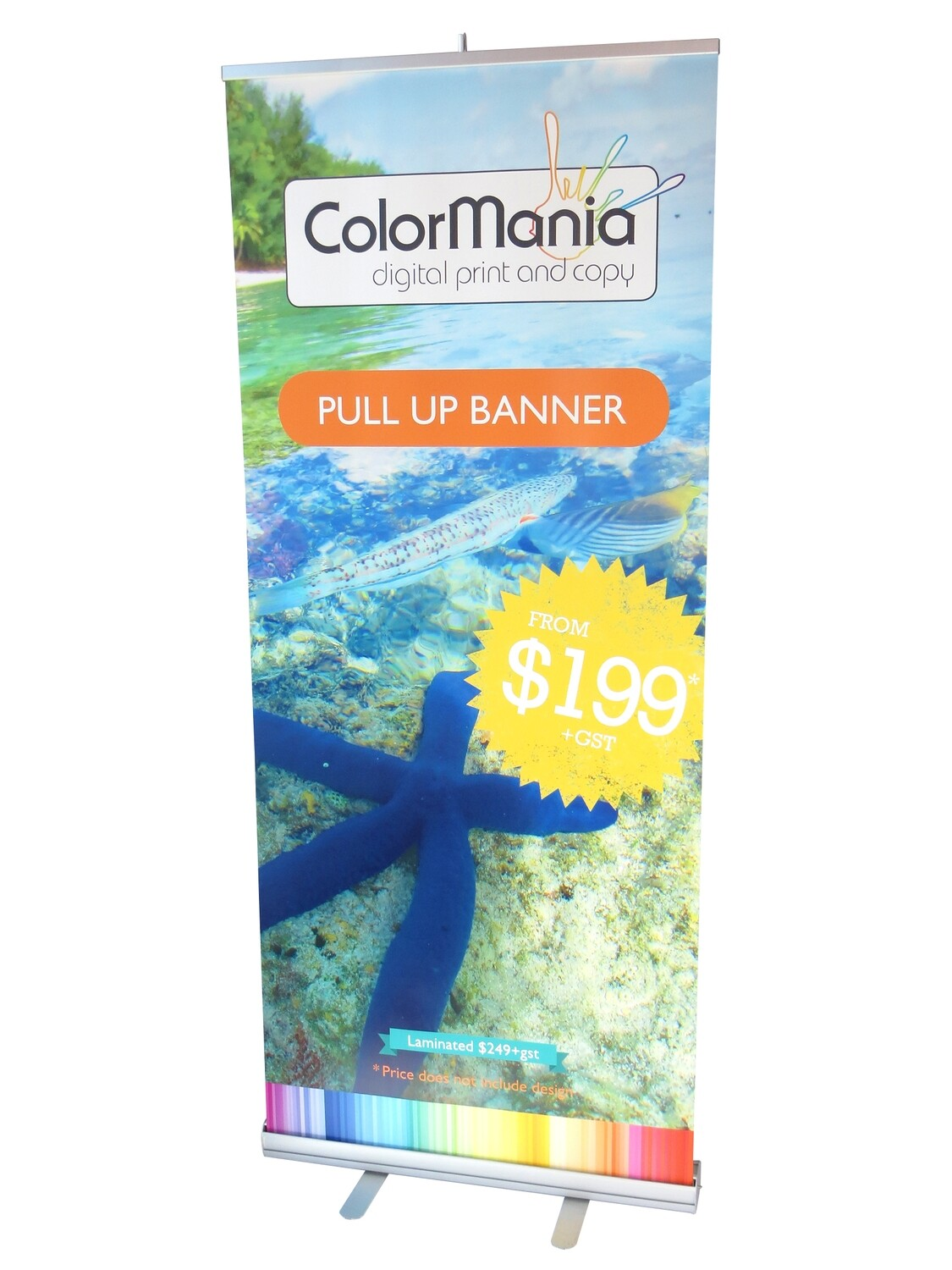 Pull Up Banner Lite - Laminated