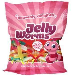 Jelly Worms godteri- 80g