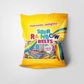 Sour Rainbow Belts godteri - 80g