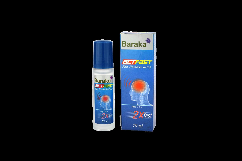 Blackseed ActFast for migrene og smerter - 10ml