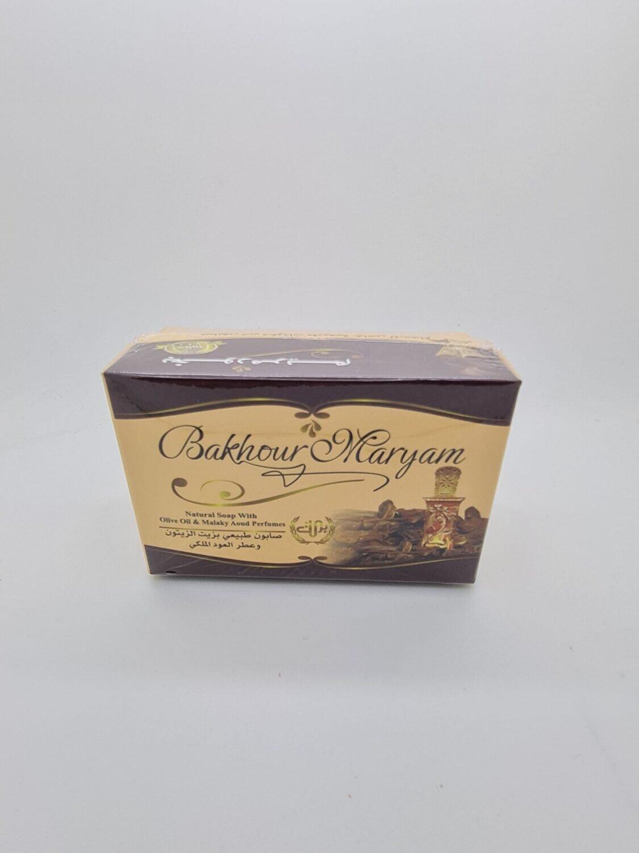 Såpe med olivenolje og malaki oud