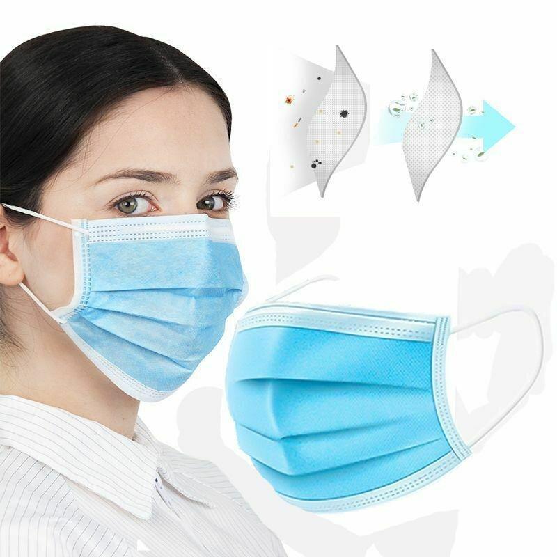 Tre-lags ansiktsmaske (25stk)