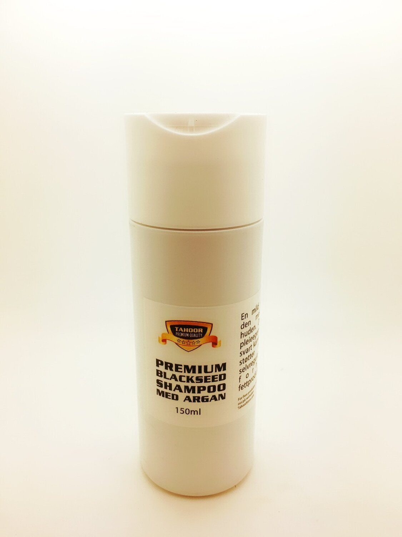 Blackseed og argan shampoo - 150ml