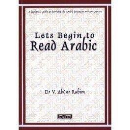 Let's begin to read Arabic
