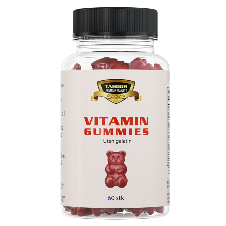 Vitamin gummies - 60stk
