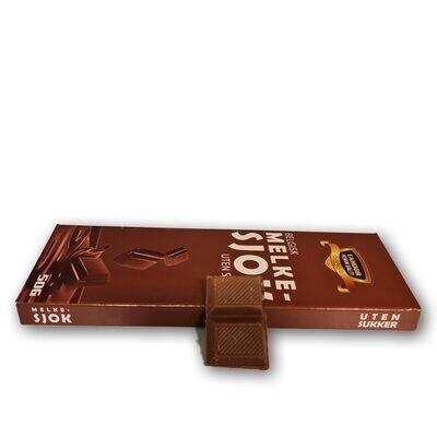 Belgisk sukkerfri sjokolade (50g)
