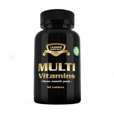 Multivitaminer - alt i ett - 90 tabletter